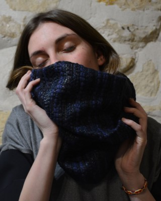 MAILLA SNOOD TWEED SCARF